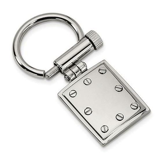Picture of Stainless Steel Polished Key Chain