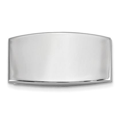 Picture of Silver-tone Domed Money Clip