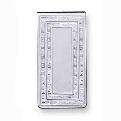 Picture of Silver-tone Patterned Money Clip