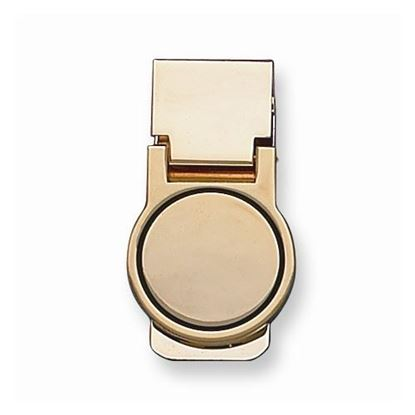 Picture of Gold-tone Round Money Clip