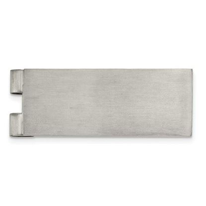 Picture of Stainless Steel Brushed Money Clip