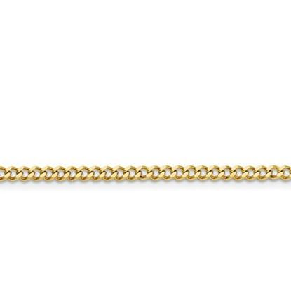 Picture of Stainless Steel IP Gold-Plated 3.0mm Curb Chain