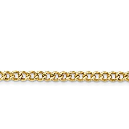 Picture of Stainless Steel 4mm IP Gold-Plated Curb Chain