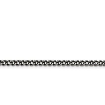 Picture of Stainless Steel 4.0mm Round Antiqued Curb Chain