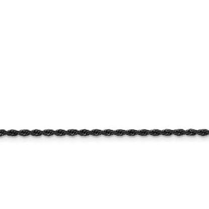 Picture of Stainless Steel IP Black-Plated 2.3mm Rope Chain