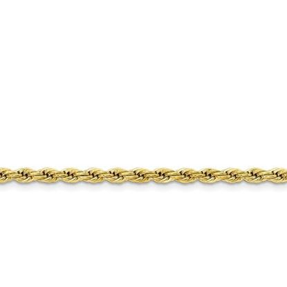 Picture of Stainless Steel Yellow IP-Plated 4.0mm Rope Chain