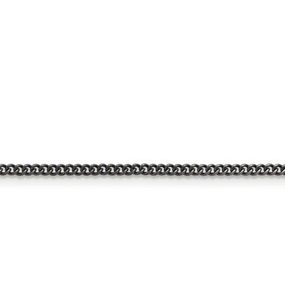 Stainless Steel 2.00mm Round Curb Antiqued Chain