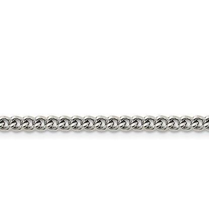 Stainless Steel 4.0mm Round Curb Chain