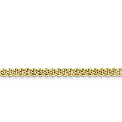 Stainless Steel IP Gold-Plated 4.0mm Round Curb Chain